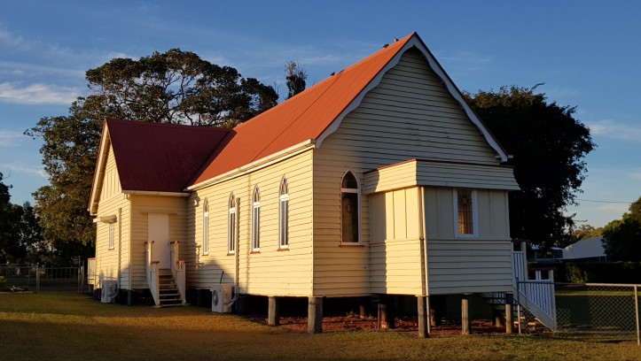 Moggill Methodist church built 1868 photo 2018