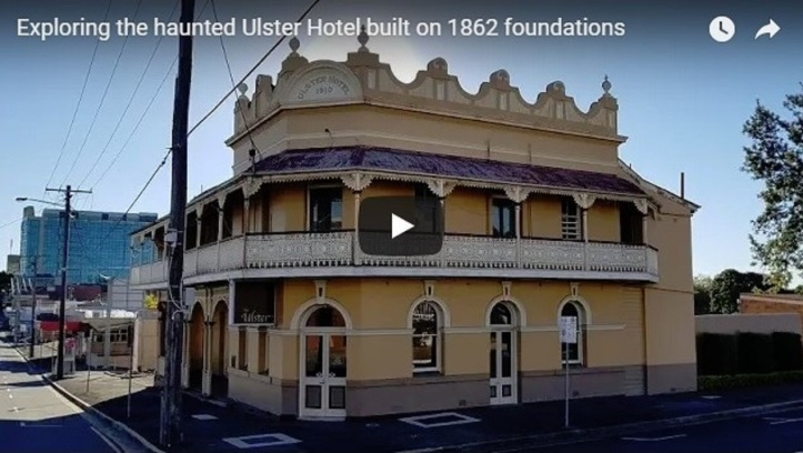 Exploring the haunted Ulster Hotel built on 1862 foundations