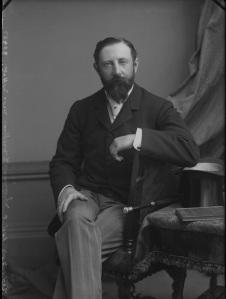Lewis Henry Hugh Clifford, 9th Baron Clifford of Chudleigh - by Alexander Bassano half-plate glass negative, circa 1898 NPG x30515