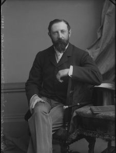 Lewis Henry Hugh Clifford, 9th Baron Clifford of Chudleigh - by Alexander Bassano half-plate glass negative, circa 1898 NPG x30515