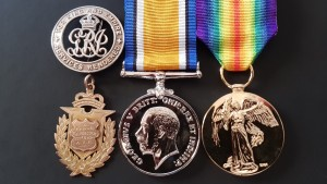 Medals of Tom Peacock