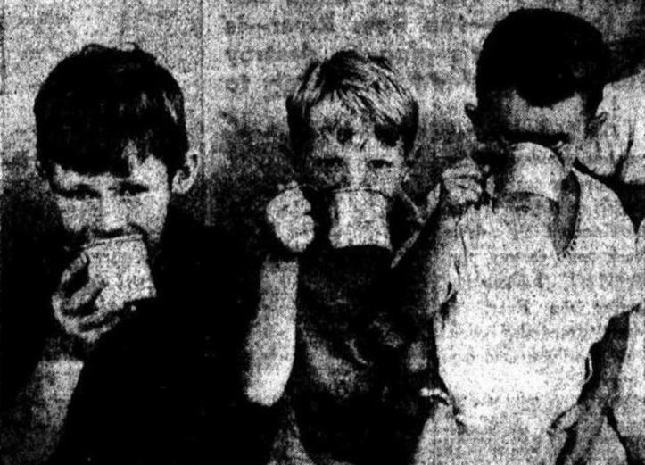 Garry Green - John Bell - Norman Pew -Telegraph Monday 26 February 1945 p2
