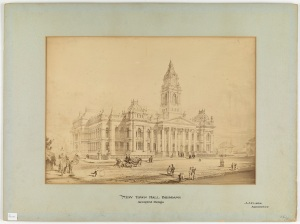 New Town Hall Brisbane accepted design1 - JJ Clark - State Library of Victoria 704583761