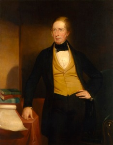 Charles Sturt replica by John Michael Crossland c1853 - National Porttrait Gallery 3302