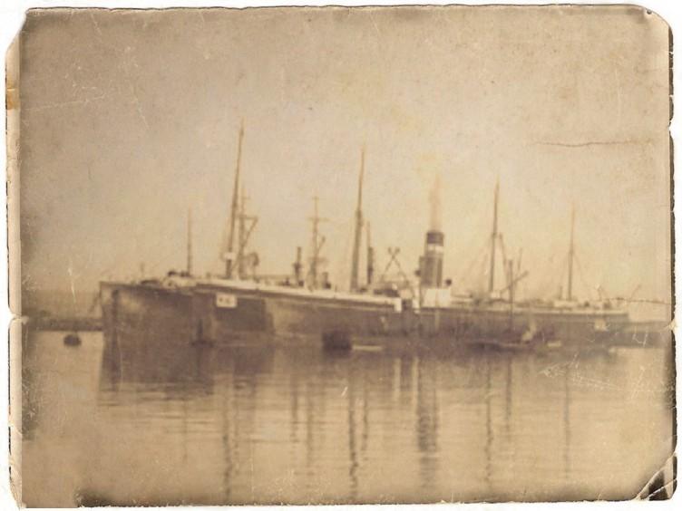 SS Templemore - courtesy of Desert Column - updated