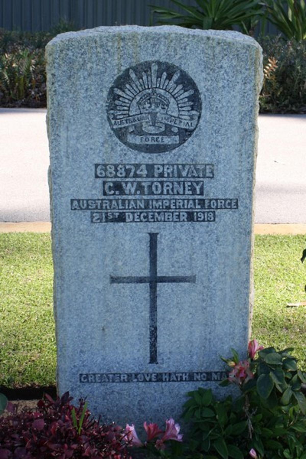 68874_Private_Clarence_William_Torney - Vitual War Memorial Australia