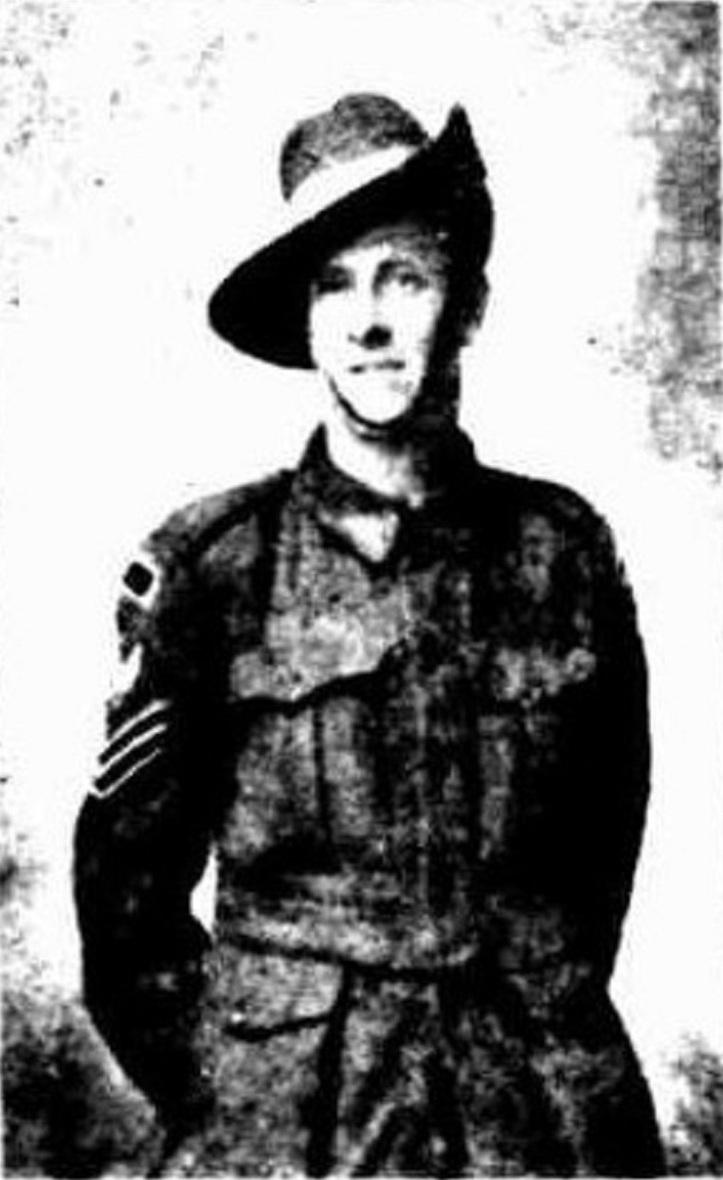 Ernie Emmerson - Footscray Independent Saturday 21 December 1918 page 2 (2)