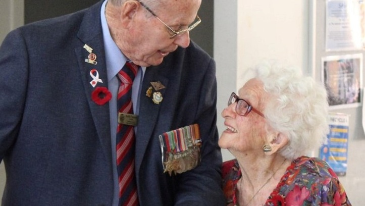 Keith Pennell and Elizabeth Jordan 2019 - Bundamba ANZAC Observance Committee (4)